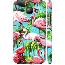 Чехол на Samsung Galaxy J1 J100H Tropical background