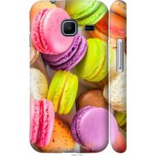 Чехол на Samsung Galaxy J1 Mini J105H Вкусные макаруны