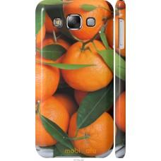 Чехол на Samsung Galaxy E5 E500H Мандарины