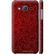 Чехол на Samsung Galaxy J2 J200H Чехол цвета бордо