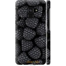 Чехол на Samsung Galaxy A8 2018 A530F Черная ежевика