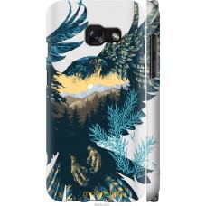 Чехол на Samsung Galaxy A3 (2017) Арт-орел на фоне природы