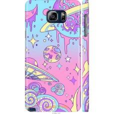 Чехол на Samsung Galaxy Note 5 N920C 'Розовый космос