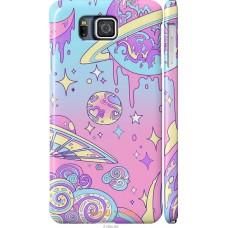 Чехол на Samsung Galaxy Alpha G850F 'Розовый космос