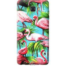 Чехол на Samsung Galaxy C9 Pro Tropical background