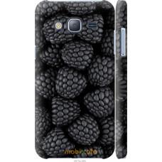 Чехол на Samsung Galaxy J3 Duos (2016) J320H Черная ежевика