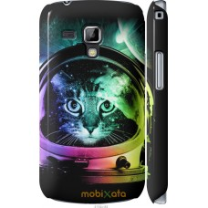 Чехол на Samsung Galaxy S Duos s7562 Кот космонавт