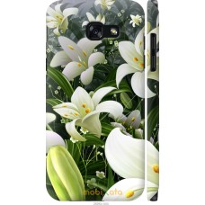Чехол на Samsung Galaxy A5 (2017) Лилии белые