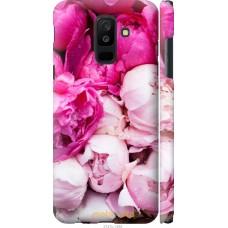 Чехол на Samsung Galaxy A6 Plus 2018 Розовые цветы