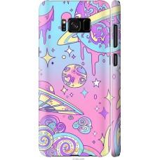 Чехол на Samsung Galaxy S8 'Розовый космос