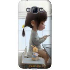 Чехол на Samsung Galaxy A8 A8000 Милая девочка с зайчиком