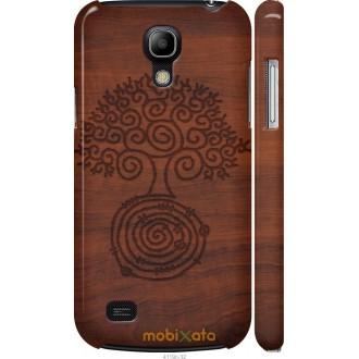 Чехол на Samsung Galaxy S4 mini Duos GT i9192 Узор дерева