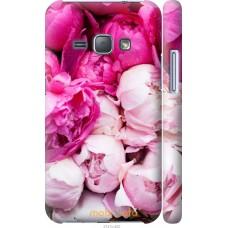 Чехол на Samsung Galaxy J1 (2016) Duos J120H Розовые цветы