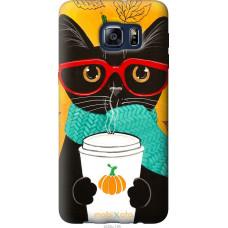 Чехол на Samsung Galaxy S6 Edge Plus G928 Осенний кот