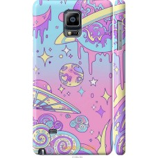 Чехол на Samsung Galaxy Note 4 N910H 'Розовый космос