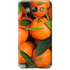 Чехол на Samsung Galaxy E7 E700H Мандарины