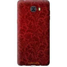 Чехол на Samsung Galaxy C9 Pro Чехол цвета бордо