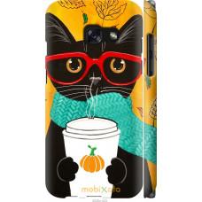 Чехол на Samsung Galaxy A3 (2017) Осенний кот