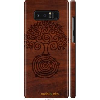 Чехол на Samsung Galaxy Note 8 Узор дерева