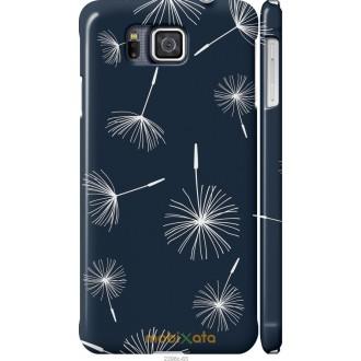 Чехол на Samsung Galaxy Alpha G850F одуванчики