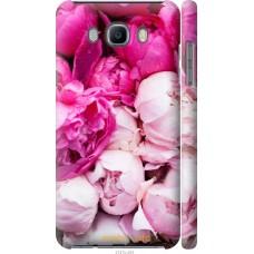 Чехол на Samsung Galaxy J7 (2016) J710F Розовые цветы