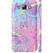 Чехол на Samsung Galaxy E5 E500H 'Розовый космос