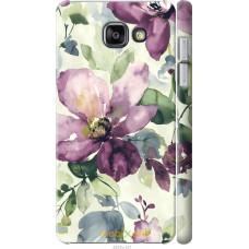 Чехол на Samsung Galaxy A7 (2016) A710F Акварель цветы