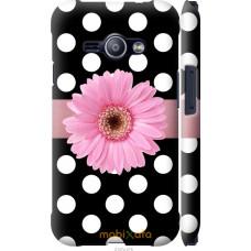 Чехол на Samsung Galaxy J1 Ace J110H Цветочек горошек v2