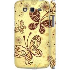 Чехол на Samsung Galaxy Grand 2 G7102 Рисованные бабочки