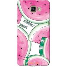 Чехол на Samsung Galaxy A9 Pro Розовый арбузик