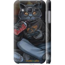 Чехол на Samsung Galaxy J2 J200H gamer cat