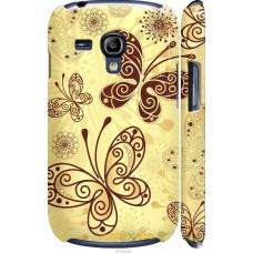 Чехол на Samsung Galaxy S3 mini Рисованные бабочки