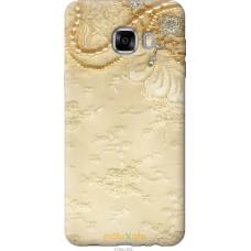 Чехол на Samsung Galaxy C7 C7000 'Мягкий орнамент