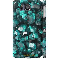 Чехол на Samsung Galaxy Alpha G850F Кристаллы 2