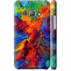 Чехол на Samsung Galaxy J1 (2016) Duos J120H Акварель на хол