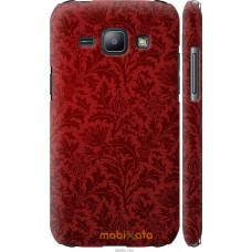 Чехол на Samsung Galaxy J1 J100H Чехол цвета бордо