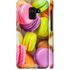 Чехол на Samsung Galaxy A8 2018 A530F Вкусные макаруны