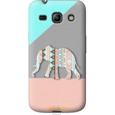 Чехол на Samsung Galaxy Star Advance G350E Узорчатый слон