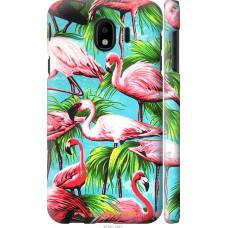 Чехол на Samsung Galaxy J4 2018 Tropical background