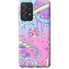 Чехол на Samsung Galaxy A52 Розовая галактика