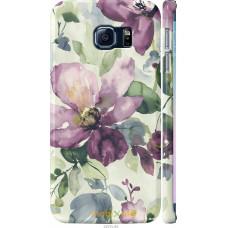 Чехол на Samsung Galaxy S6 Edge G925F Акварель цветы