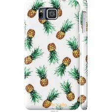Чехол на Samsung Galaxy Alpha G850F Ананас