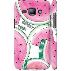 Чехол на Samsung Galaxy J1 J100H Розовый арбузик