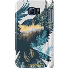 Чехол на Samsung Galaxy S6 G920 Арт-орел на фоне природы