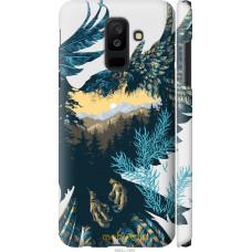 Чехол на Samsung Galaxy A6 Plus 2018 Арт-орел на фоне природ