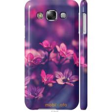 Чехол на Samsung Galaxy E5 E500H Весенние цветочки