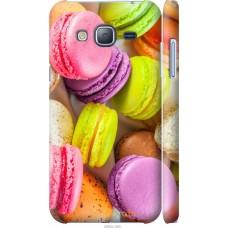 Чехол на Samsung Galaxy J3 Duos (2016) J320H Вкусные макарун