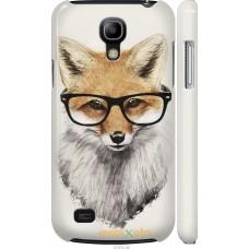 Чехол на Samsung Galaxy S4 mini Duos GT i9192 'Ученый лис