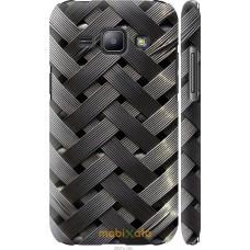 Чехол на Samsung Galaxy J1 J100H Металлические фоны