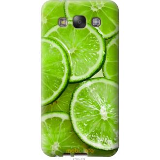 Чехол на Samsung Galaxy E7 E700H Лайм